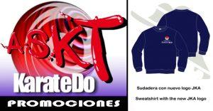 sudadera nuevo logo jka