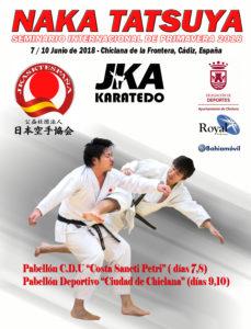 Gasshuku T.Naka 7-8-9-10 Junio 2018 -Chiclana de la Frontera-